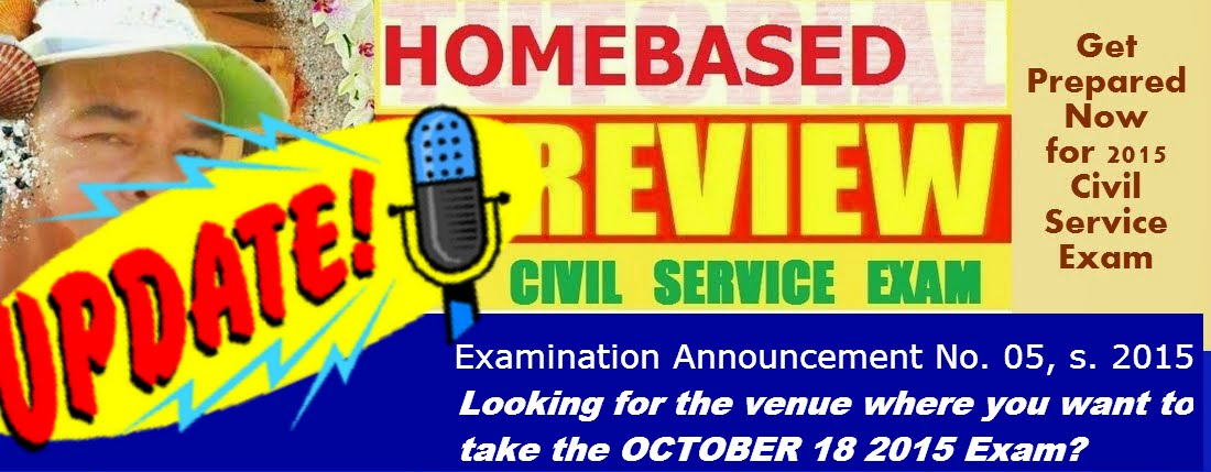 "Homebase Civil Service Review CUSTOMIZED for you .""By Failing to Prepare, You are Preparing to Fail"""