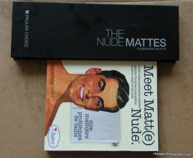 Paula's Choice The Nude Mattes and TheBalm Meet Matt(e) Nude