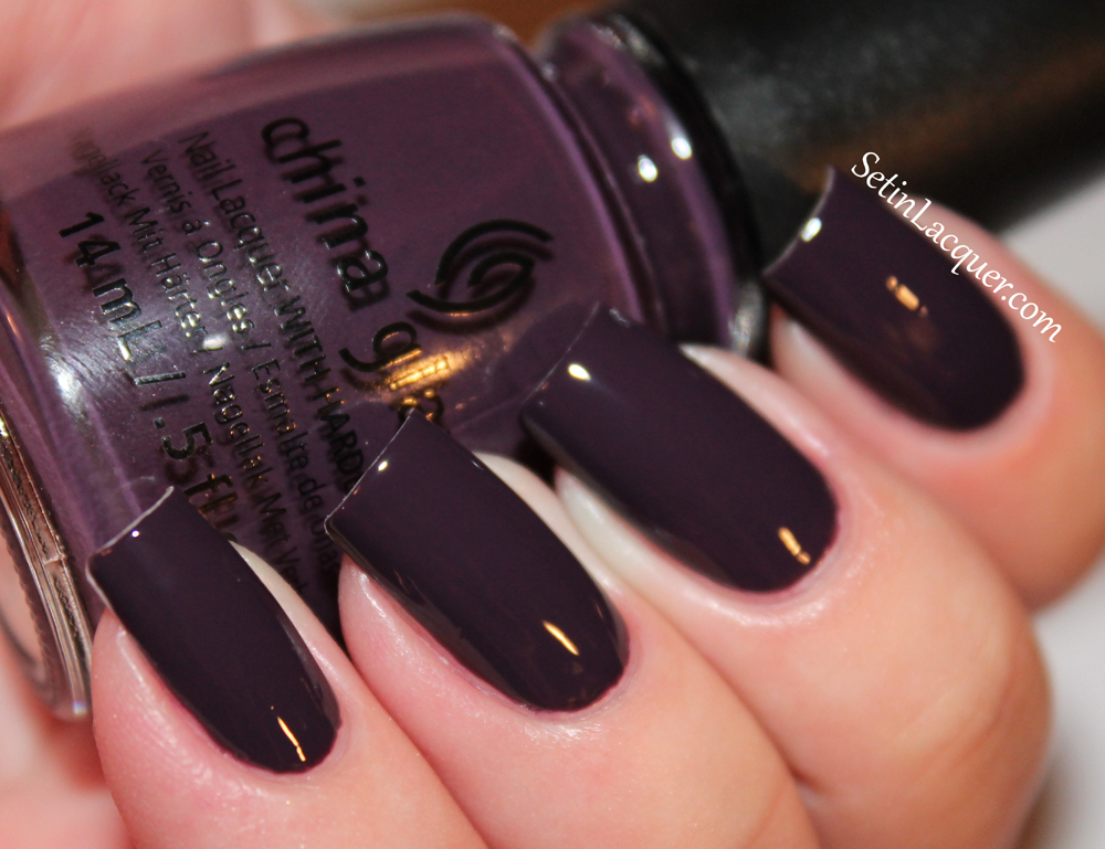 China Glaze Autumn Nights - Part one of two - swatches and ...