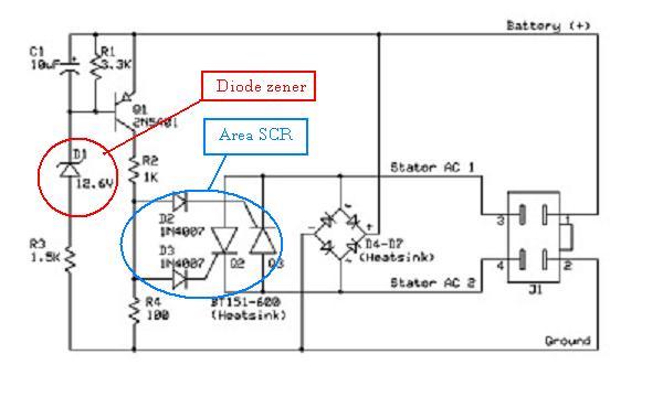 Solusi battery cara mudah modifikasi kiprok regulator pengisian solusi battery cara mudah modifikasi kiprok regulator pengisian aki motor ccuart Images