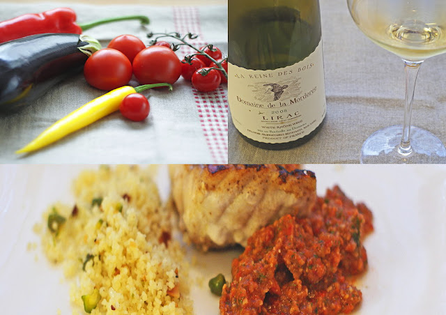 Red Snapper mit roter Mojo
