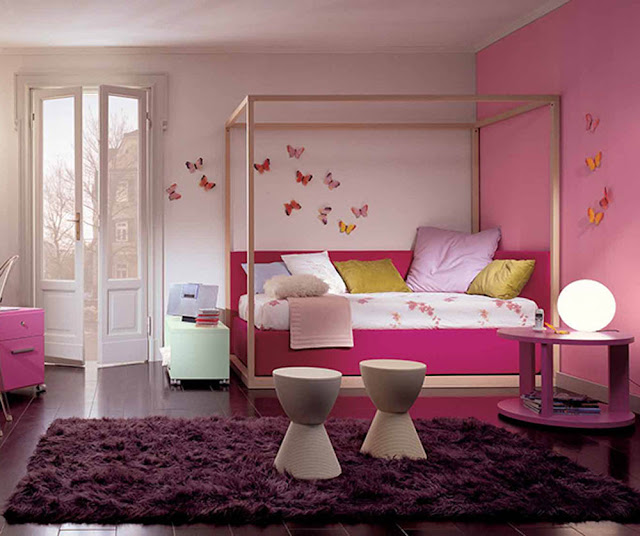 Extraordinary-Pink-Kids-Bedroom-Furniture-With-Decorating-Kids-Rugs-Bedroom-Ideas-Also-Exciting-and-Colorful-Kids-Bedroom-Design-Ideas