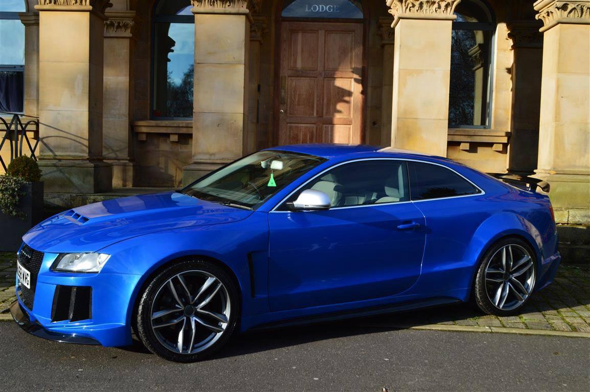 Audi RS5 Quattro Replica for Deceivingly Super-Fast Looks   Carscoops