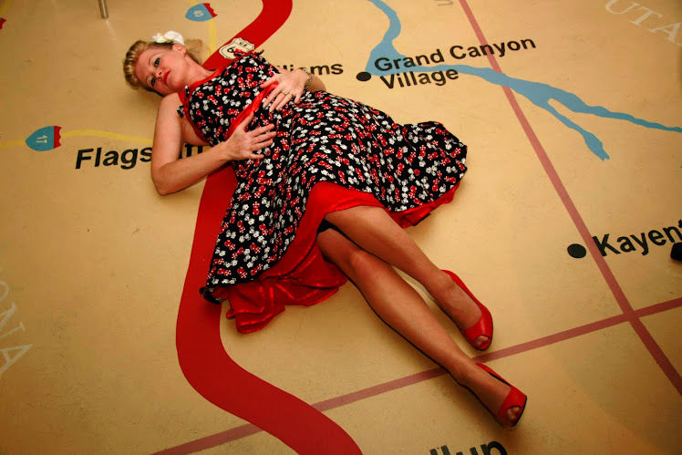 feeling lucky in this lucky dice swingdress