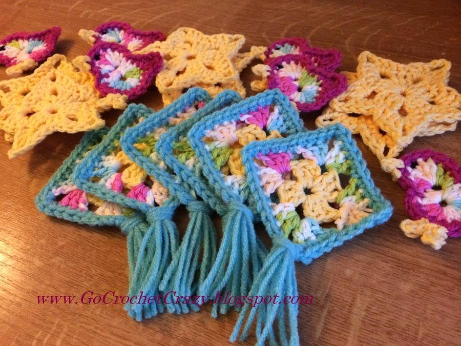 Car Seat Toy Motifs by Go Crochet Crazy