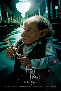 Harry Potter and the Deathly Hallows: Part 2 Character Movie Poster Set - Warwick Davis as Griphook