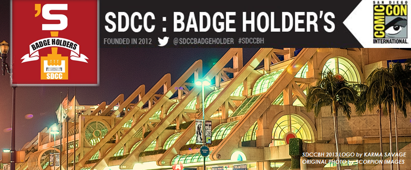 SDCC: Badge Holder's Blog