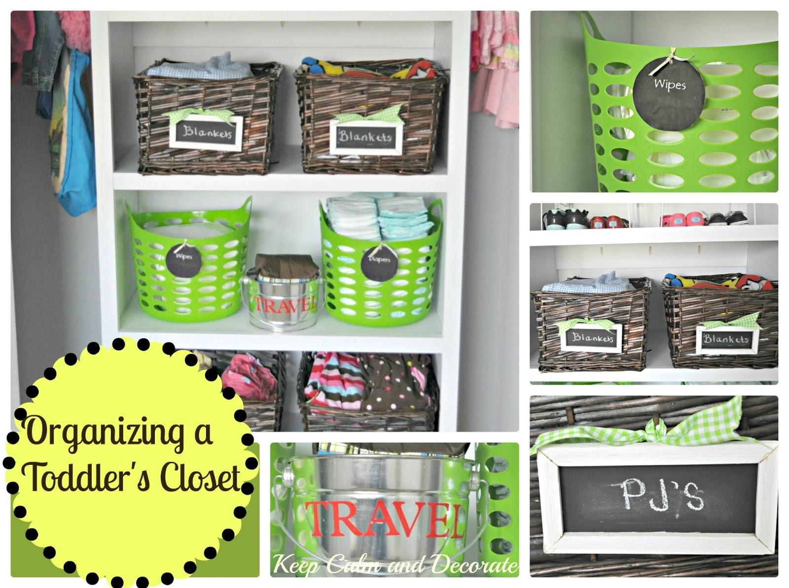 Organizing A Toddleru0027s Closet