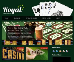 CasinoFun WordPress Theme