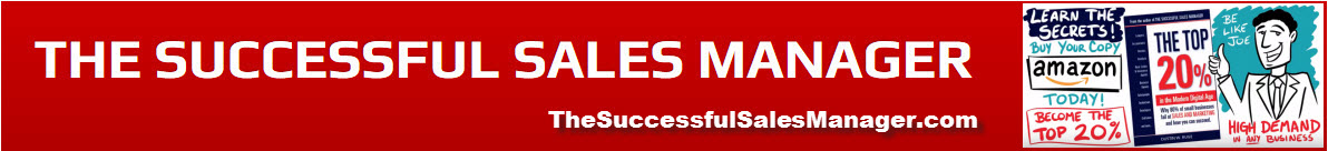 THE SUCCESSFUL SALES MANAGER