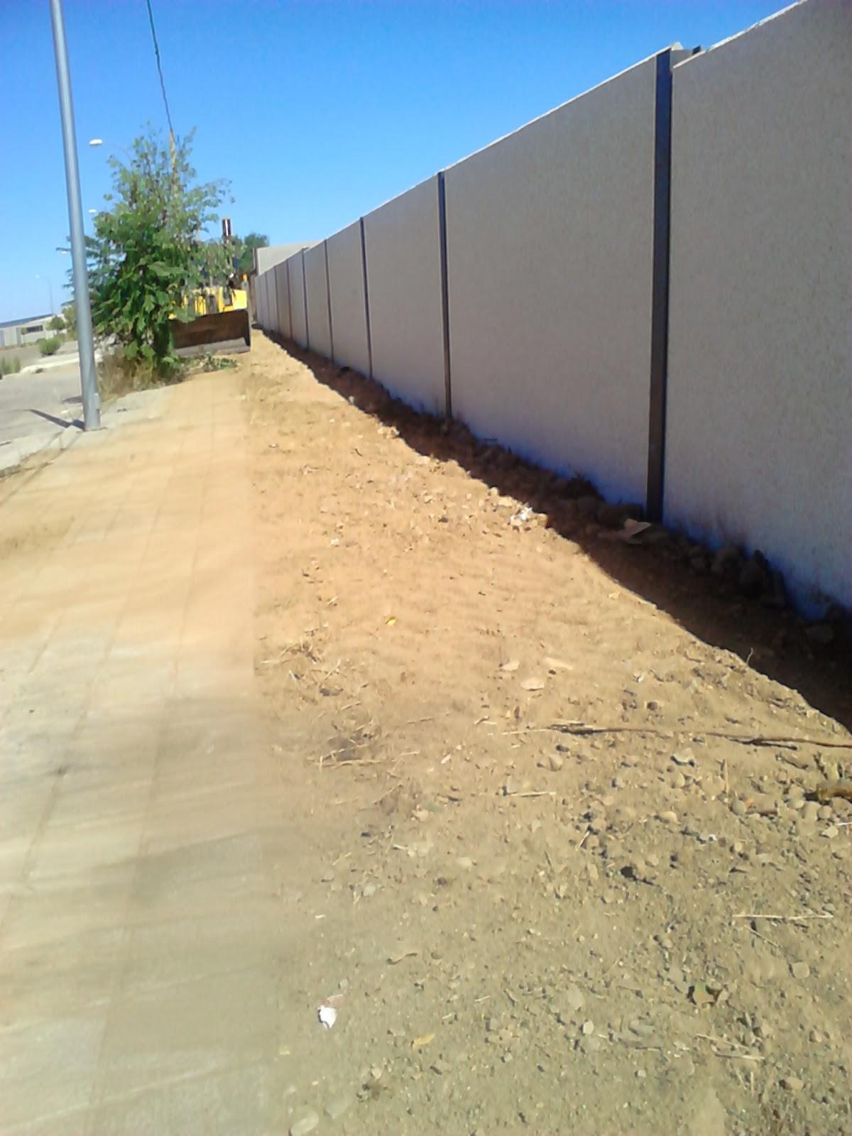 Como hacer un muro de hormigon prefabricado