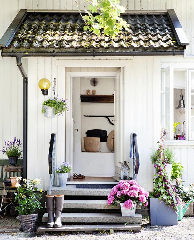 Boho deco chic una bonita casa al sudeste de noruega a for Casas en noruega