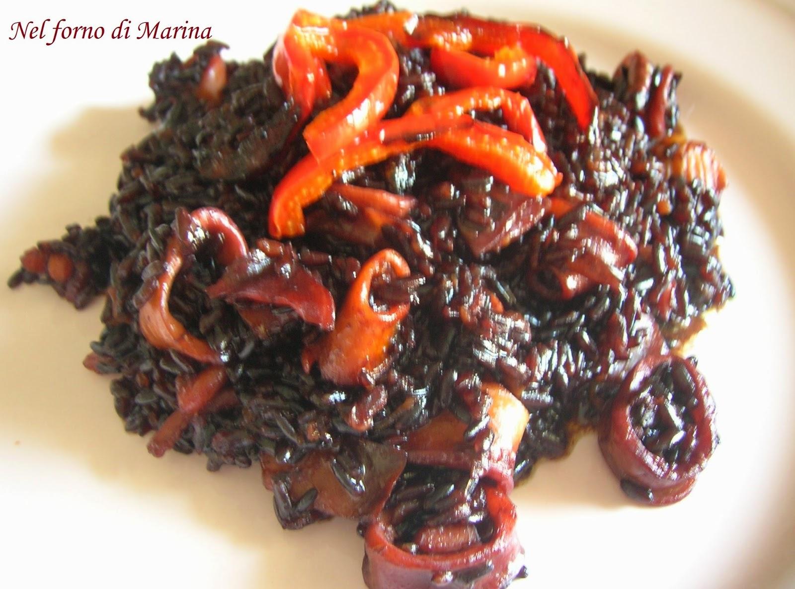 Nel forno di marina tra colori e sapori riso venere con - Forno a microonde piccolissimo ...