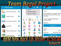 BBM Clone Free Sticker 2.9.0.44 APK