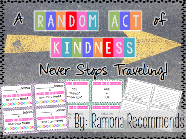 https://www.teacherspayteachers.com/Product/Random-Act-of-Kindness-Guide-for-Back-To-School-1969454