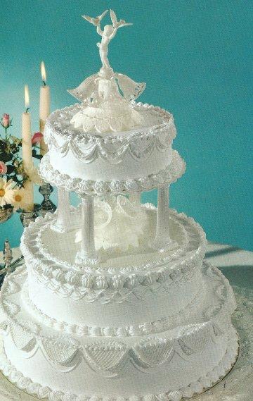 White Wedding Cakes With Buttercream Frosting Wedding Ido