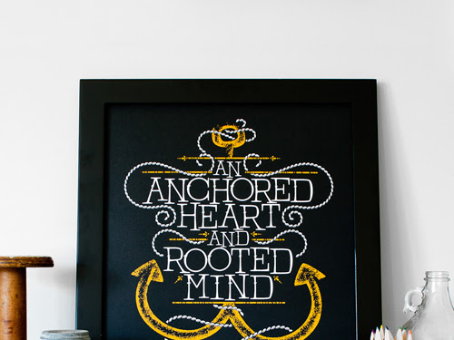 Monday Inspiration: Anchored