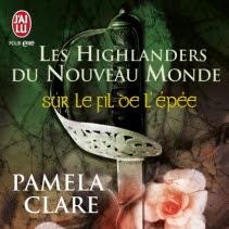 Sur le fil de l'épée de Pamela Clare