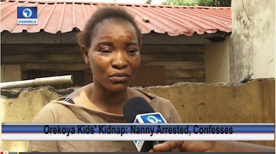 Video; Watch The Shocking Confessions Of The Criminal Housemaid Who Kidnapped The Orekoya Kids