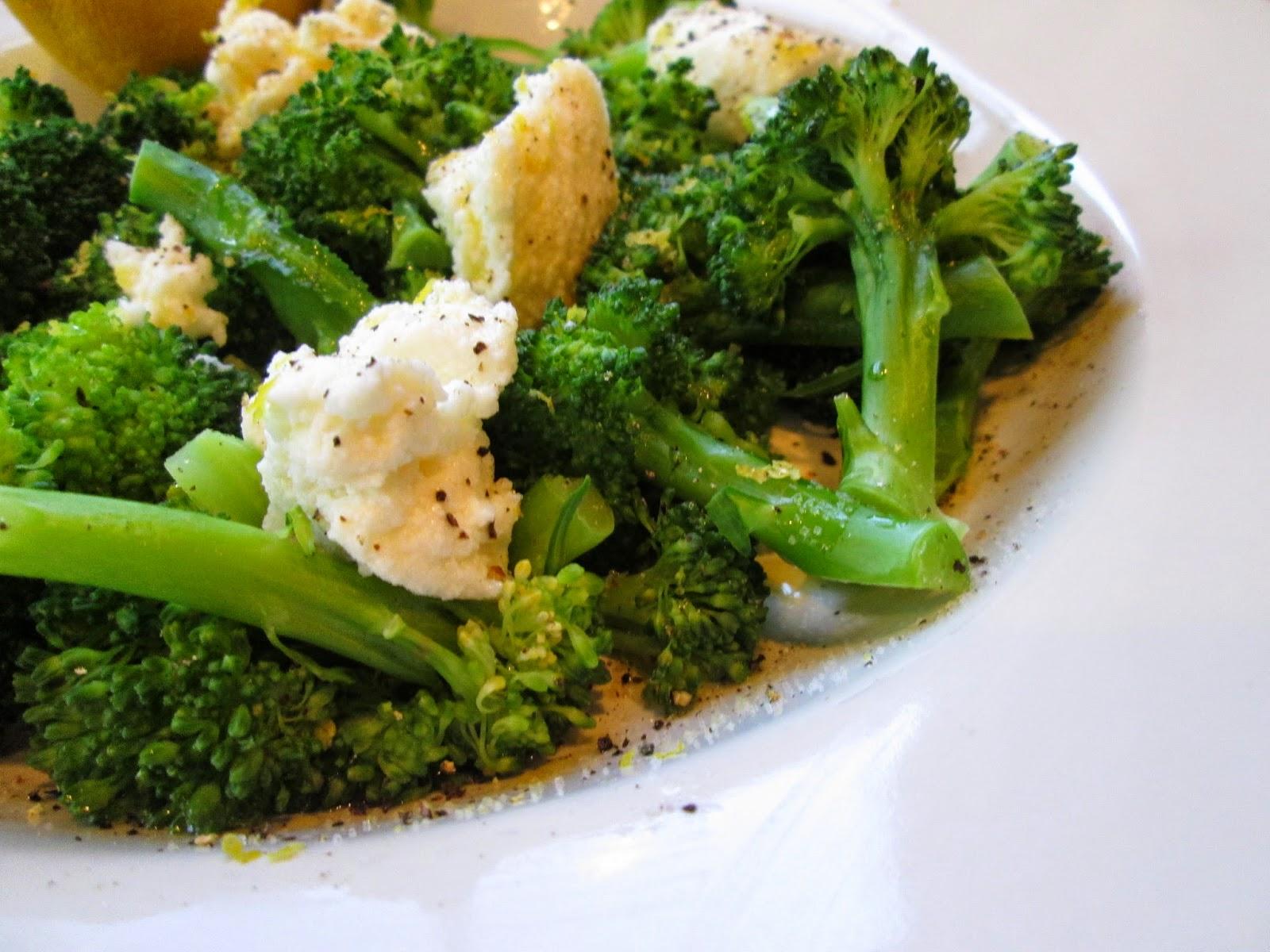 ... the Pot: Diana Henry's Broccoli with Ricotta, Lemon, and Parmesan