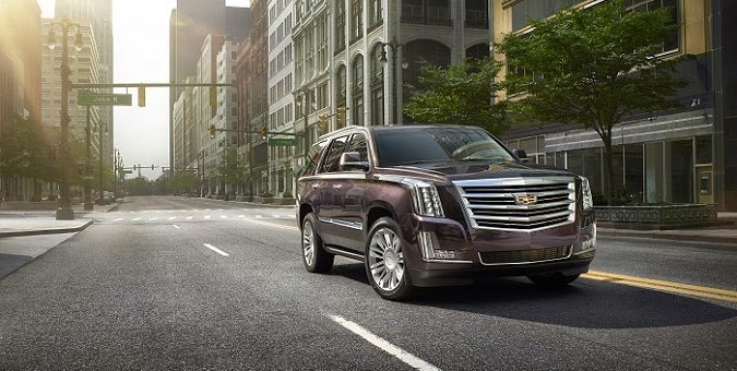2015i Cadillac Escalades Available with Updated Technology