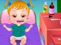 Juegos de cuidar a Baby Hazel