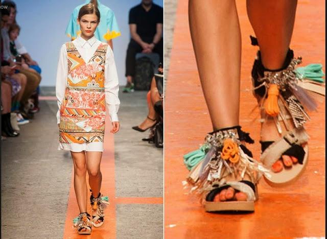 Sandálias rasteirinhas de couro