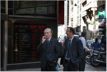 Cotizacion del dolar en la city 2009