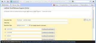 Input Butir Soal di Form Google Drive