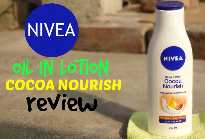 Nivea Oil In Lotion Cocoa Nourish Review