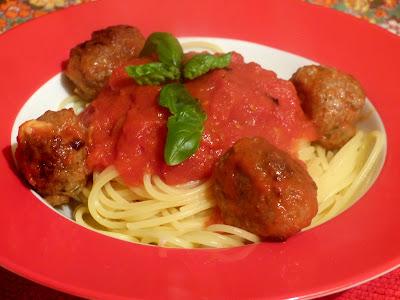 espaguete com almôndegas spaguetti meatballs