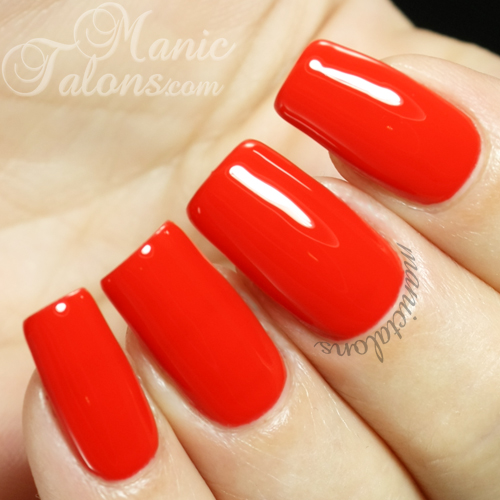 Madam Glam UV Gel 043 - True Fire Brick Red Swatch