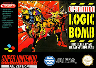 operation logic bomb snes cover