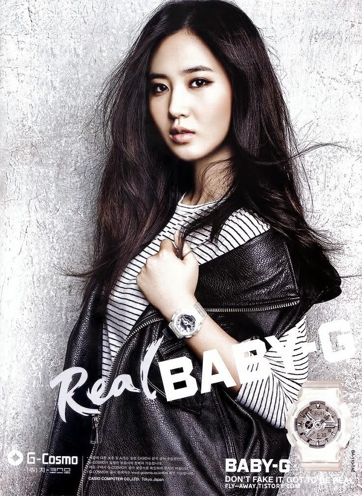 Girls' Generation Casio Real Baby-G