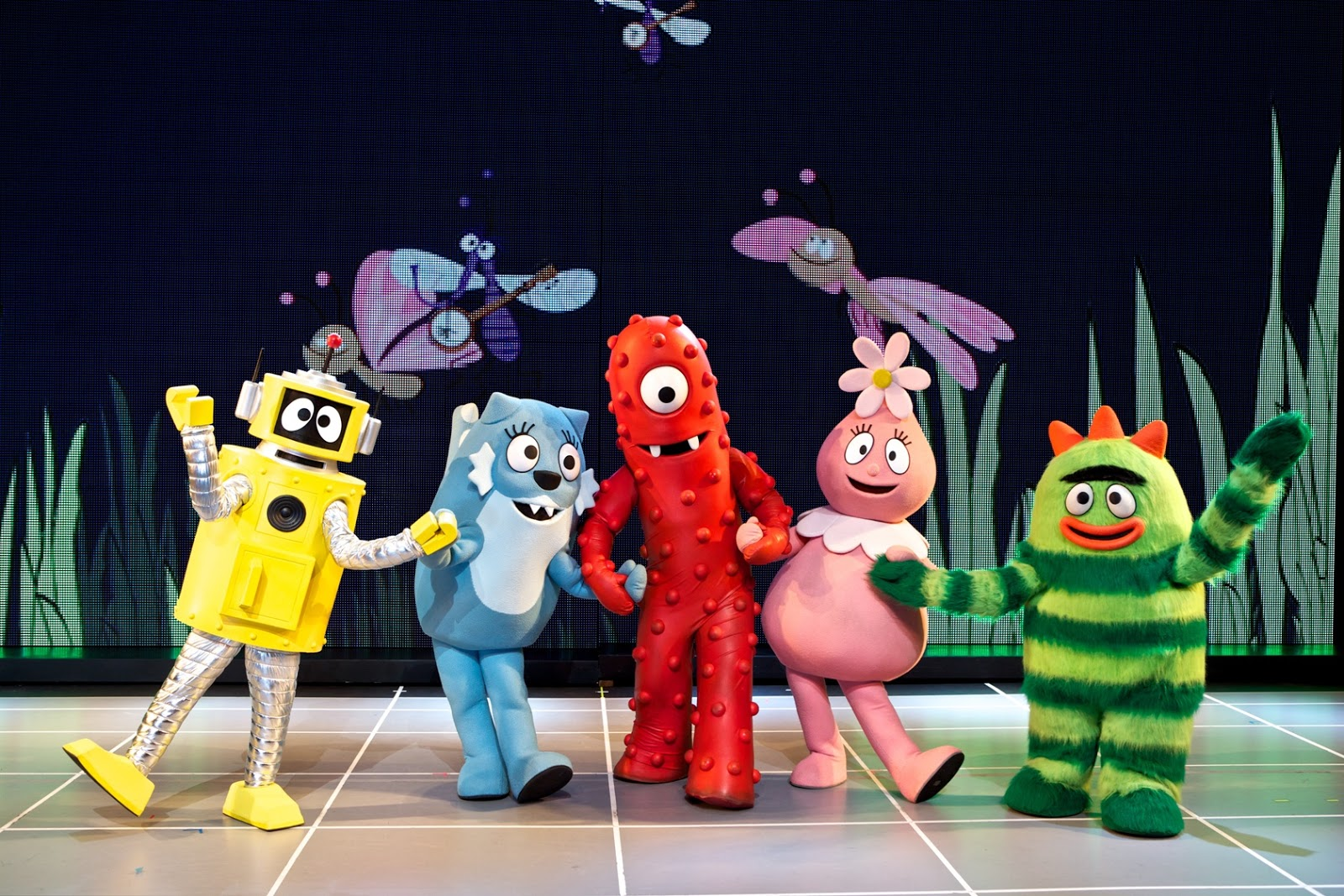 Evan And Laurens Cool Blog 11013 Yo Gabba Gabba Live Get The