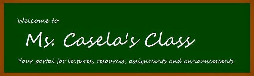 Ms. Casela's Class