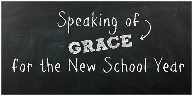 starting the school year with grace