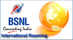 BSNL International Roaming Facility and Activation Procedure