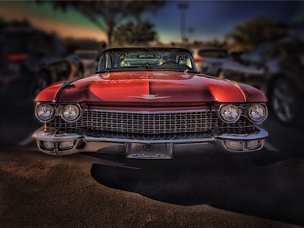 Red Cadillac © Geri Centonze