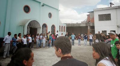 JM em Missão na Comunidade Santa Isabel de Portugal, em Guarulhos (SP)