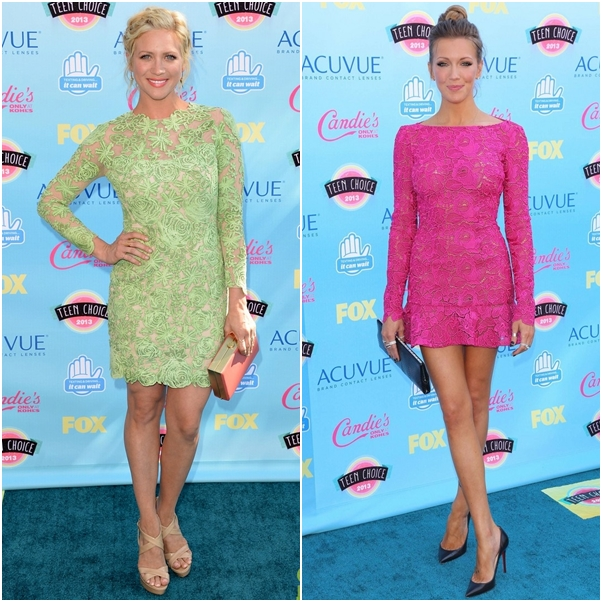 Look Brittany Snow Katie Cassidy Teen Choice Awards 2013