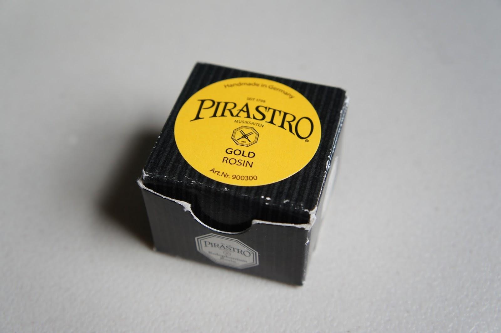 pirastro rosin how to use