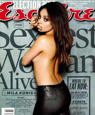 Actress Mila Kunis the sexiest woman alive