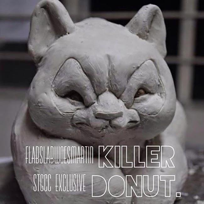 STGCC 2014 Angry Woebots Killer Donut