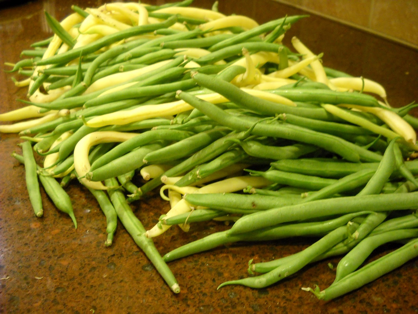 School of Eating Good: Cooking Fresh Green Beans