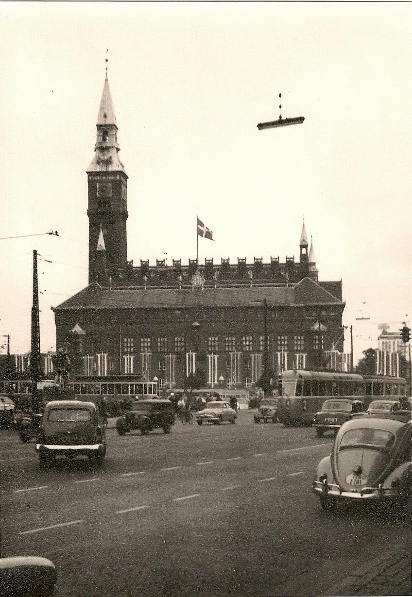Copenhagen radhus 1950s