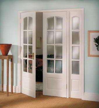 Fotos y dise os de puertas puerta acristalada de dos hojas - Puertas de dos hojas ...