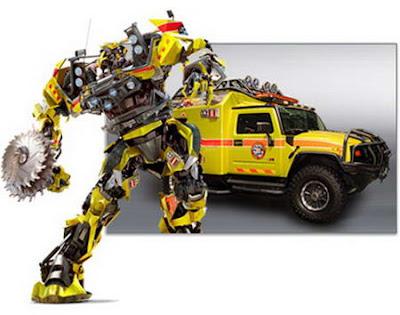 gambar Mobil-Mobil Keren Yang Ada Di Film Transformer II