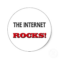 The internet rocks; part of the Vodafone Indiblogger contest