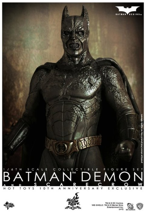 Demon Batman from Hot Toys